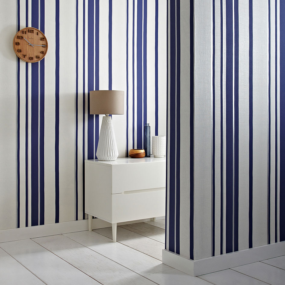 striped wallpaper vertical vs horizontal graham brown. Black Bedroom Furniture Sets. Home Design Ideas
