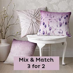 3 for 2 on cushions