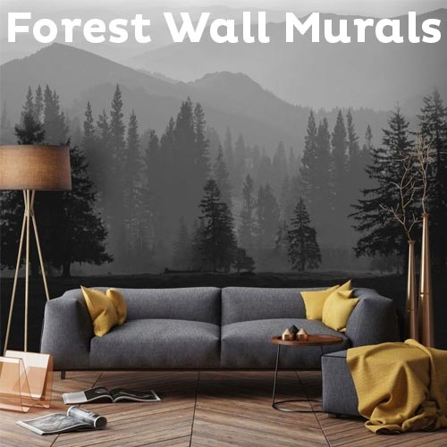 Floral Forest Wall Murals