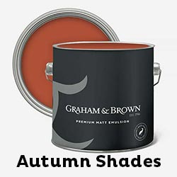 Autumn shades paint collection