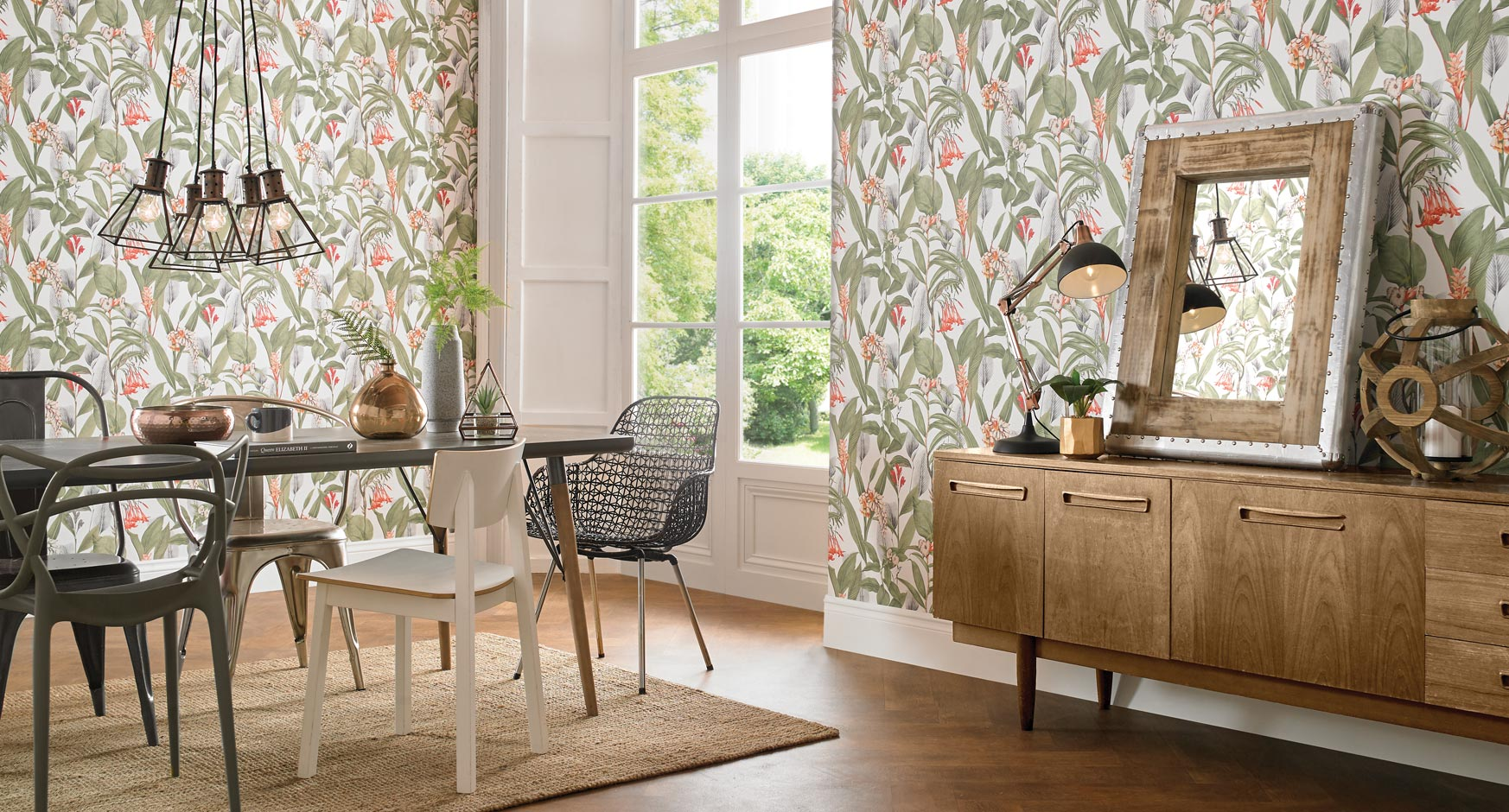 Shop by room graham brown for Dining room wallpaper ideas uk