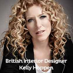 Birtish Interior Designer Kelly Hoppen