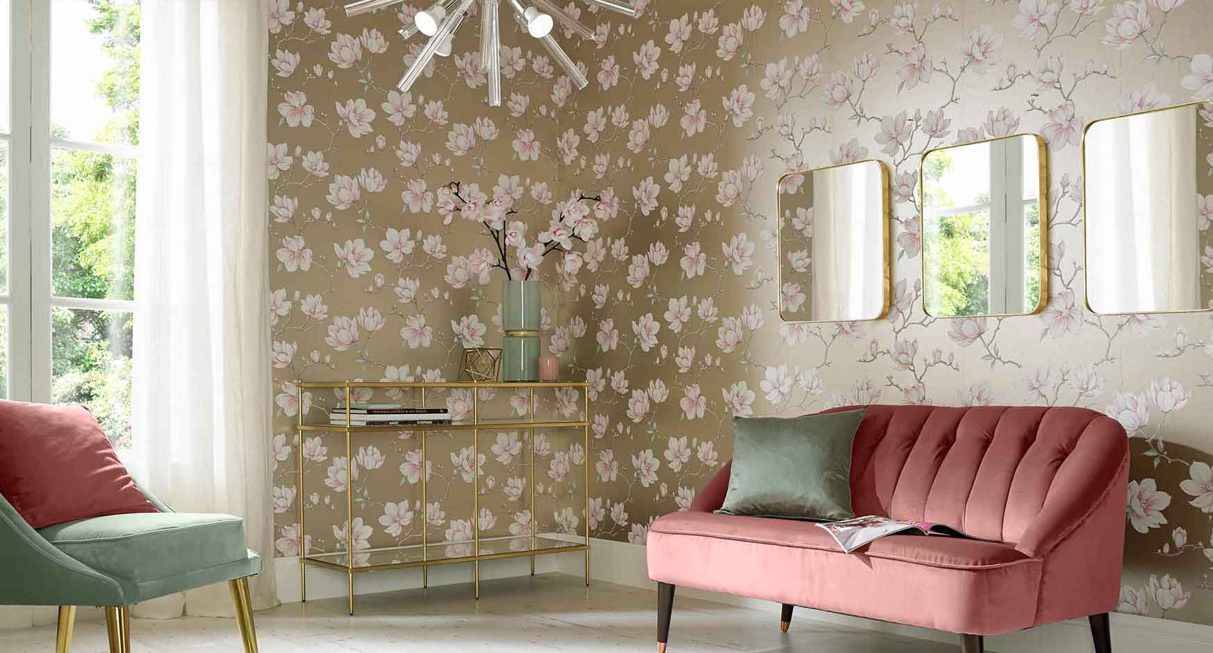 Living room wallpaper feature wall wallpaper graham - Best living room wallpaper designs ...