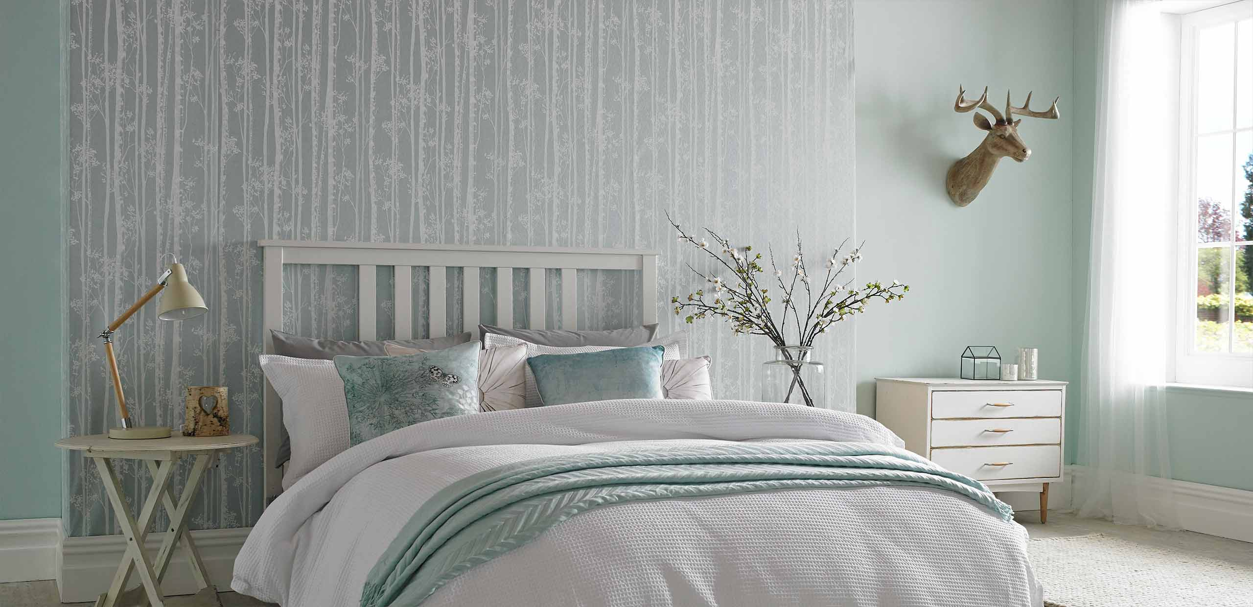 Bedroom wallpaper wall decor ideas for bedrooms for Bedroom ideas wallpaper