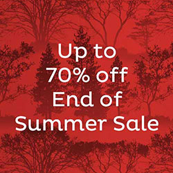 Up to 70% off - End of Summer Sale